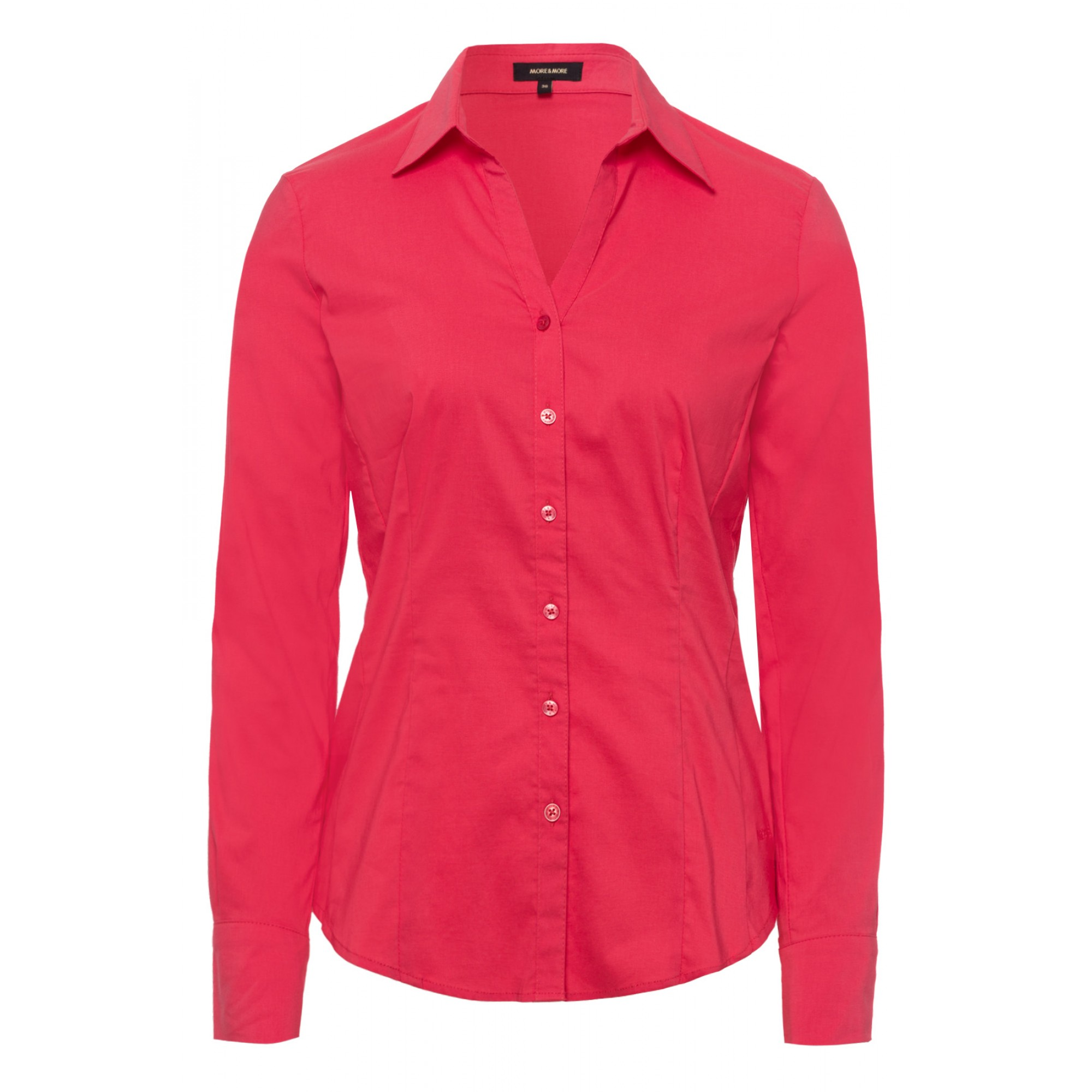 Businessbluse, soft rasberry 01022572-0835 1