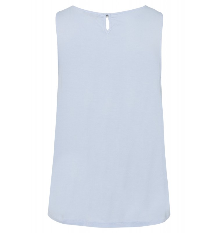 Top mit Chiffonfront, summer blue 01040562-0314 2