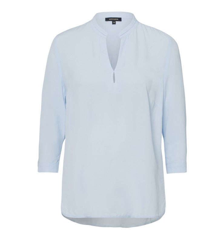 Viskosebluse, summer blue 01042056-0314 1
