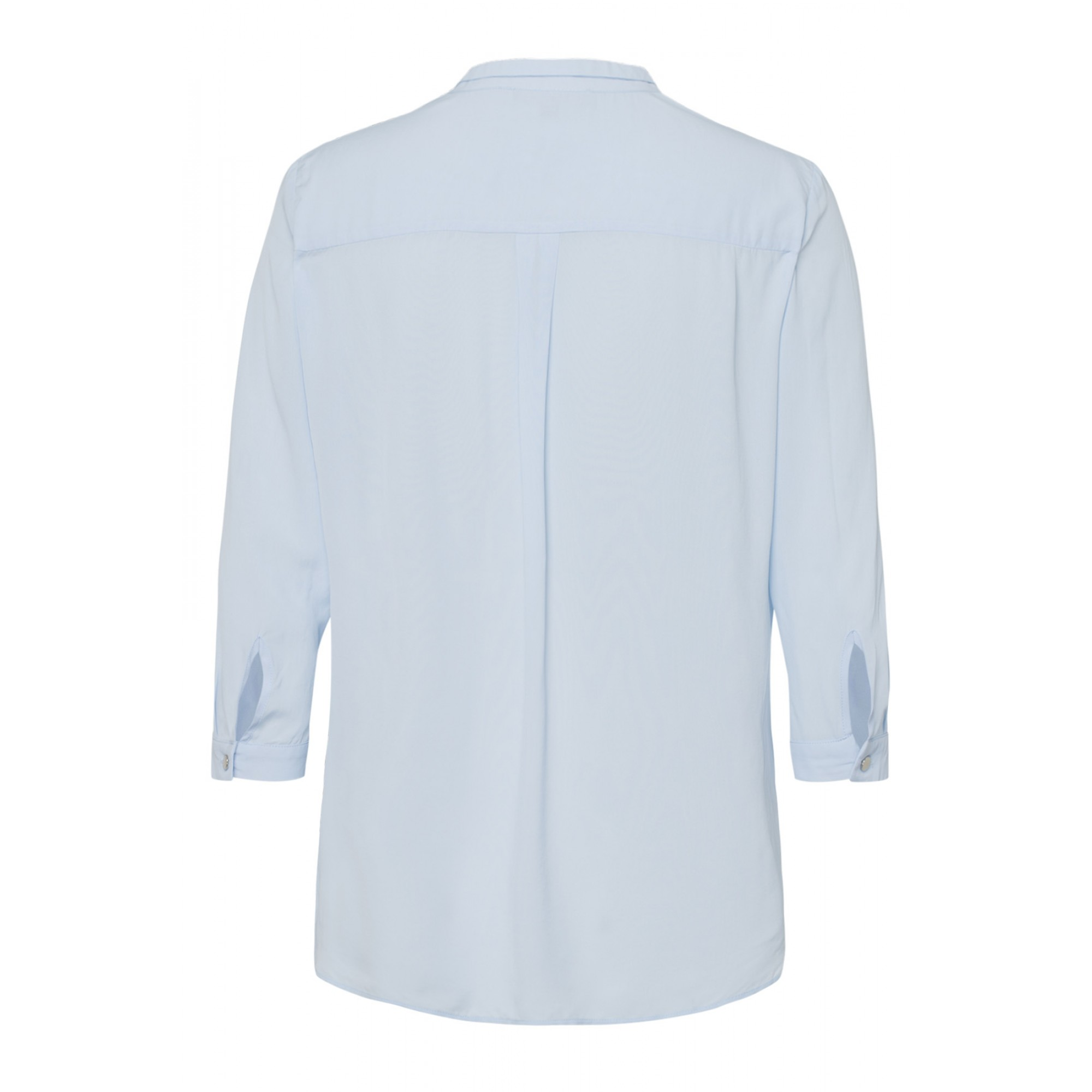 Viskosebluse, summer blue 01042056-0314 2