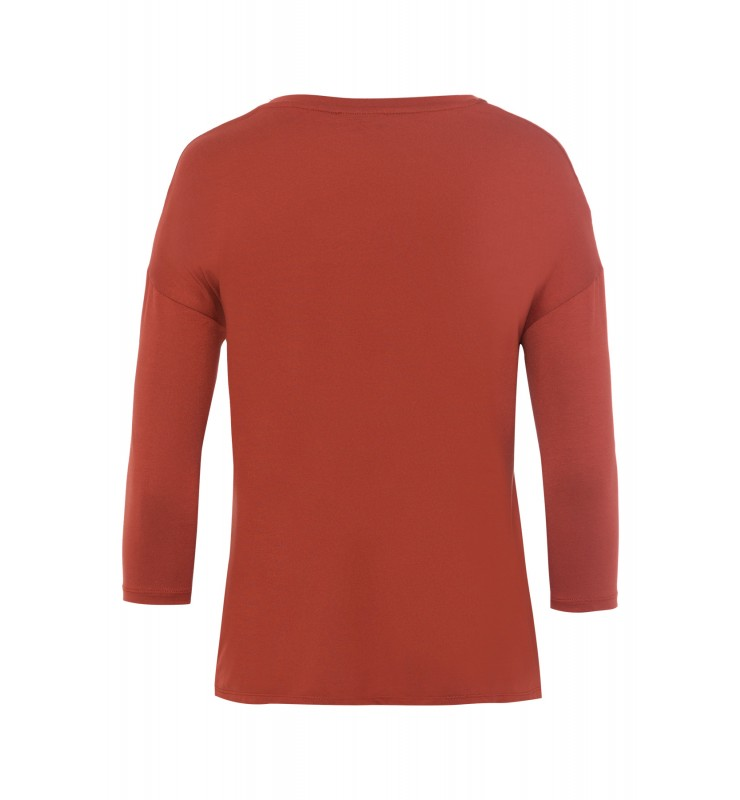 Shirt, Satinfront, terracotta 01080051-0473 2
