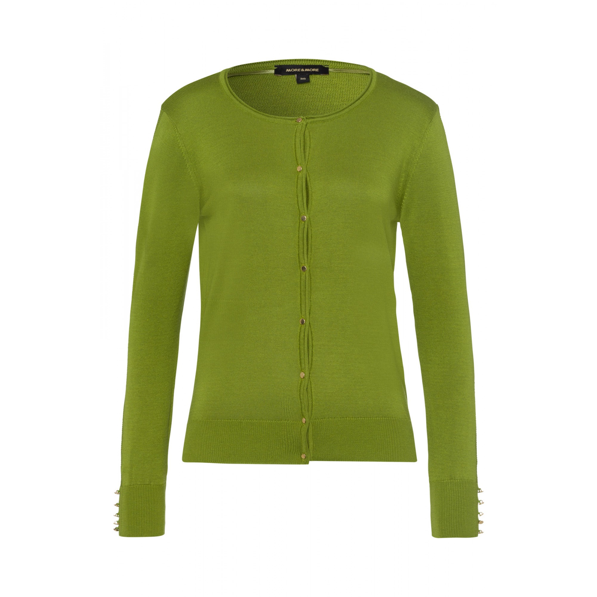 Cardigan, leaf green 01091208-0649 1