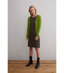 Cardigan, leaf green 01091208-0649