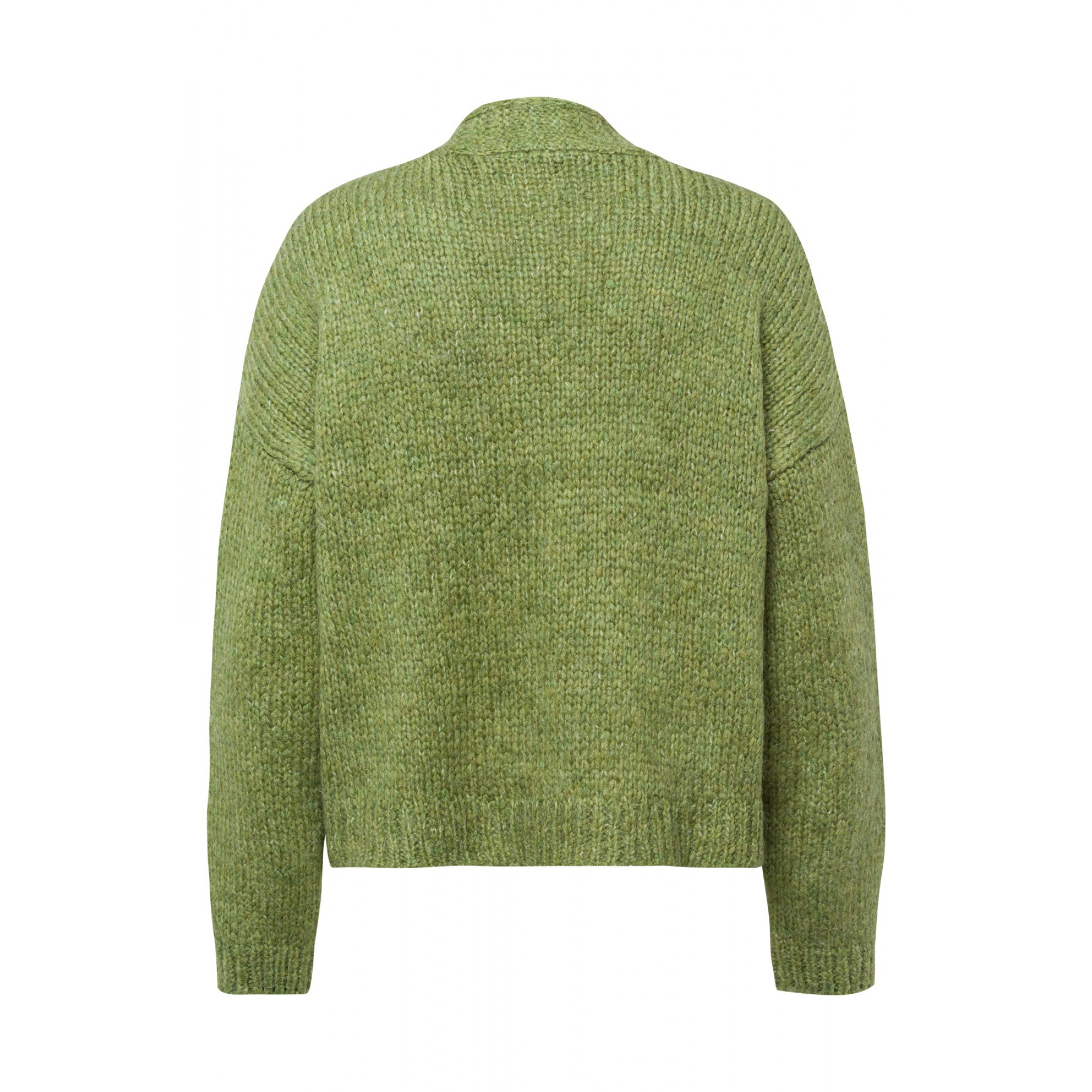 Cardigan, leaf green 01091222-0649 2