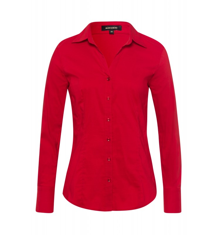 Businessbluse, autumn red 01102572-0545 1