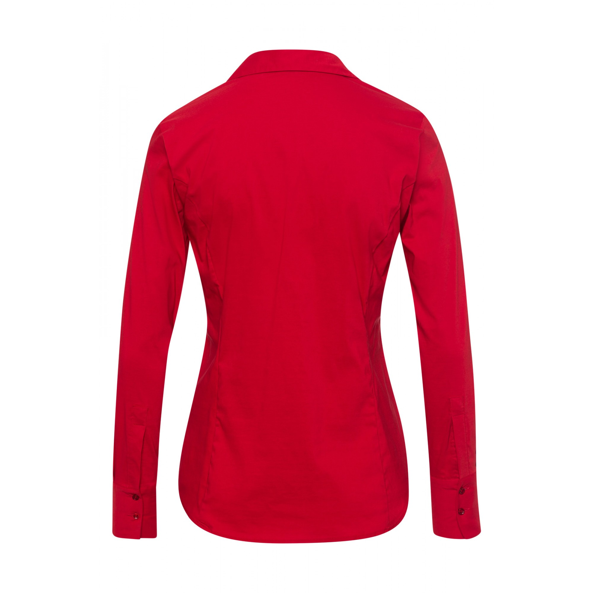 Businessbluse, autumn red 01102572-0545 2