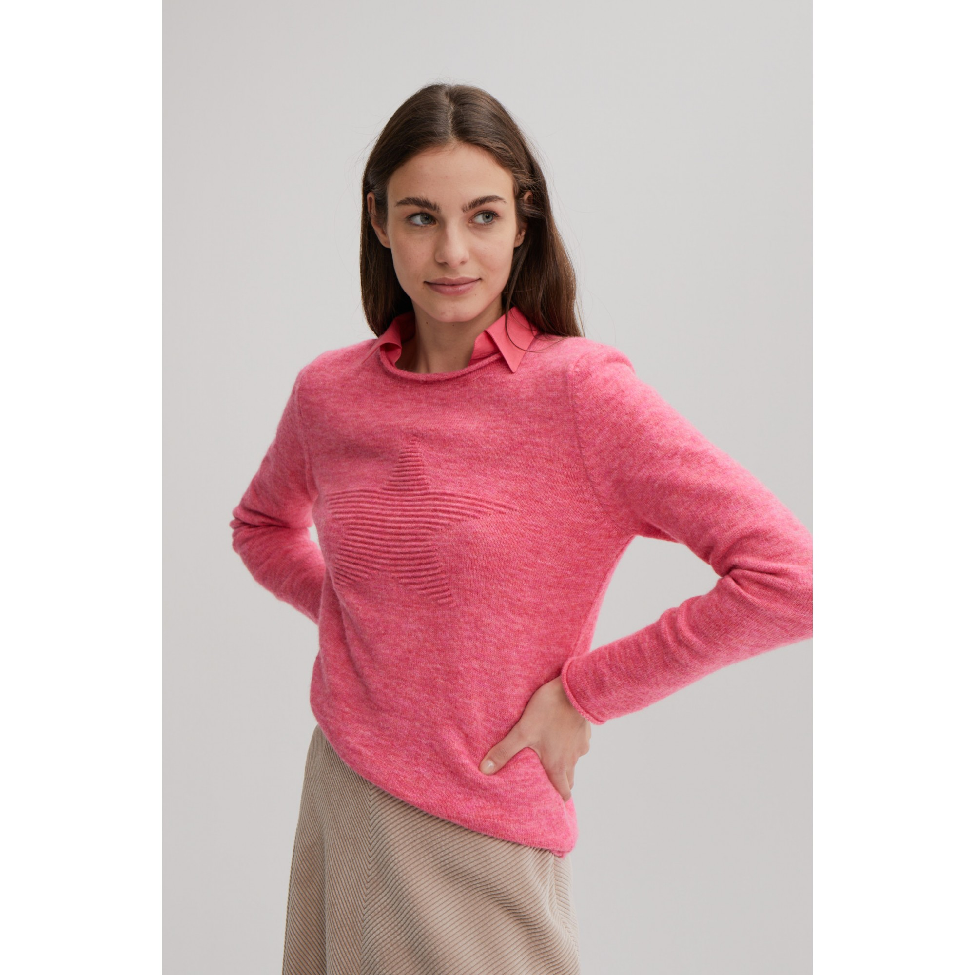 Businessbluse, mild pink 01122572-0833 3