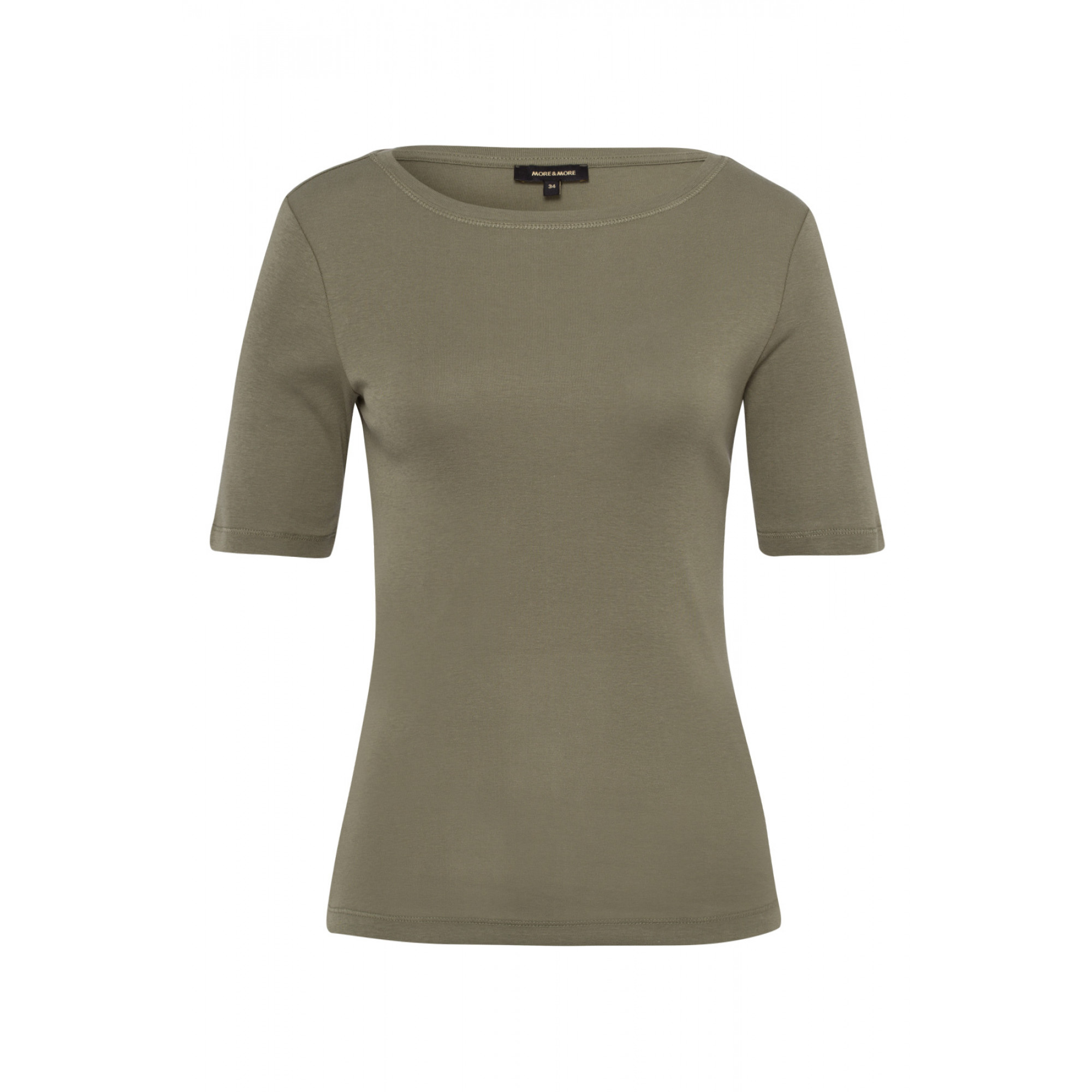 Baumwoll-T-Shirt, new khaki 01950008-0666 1