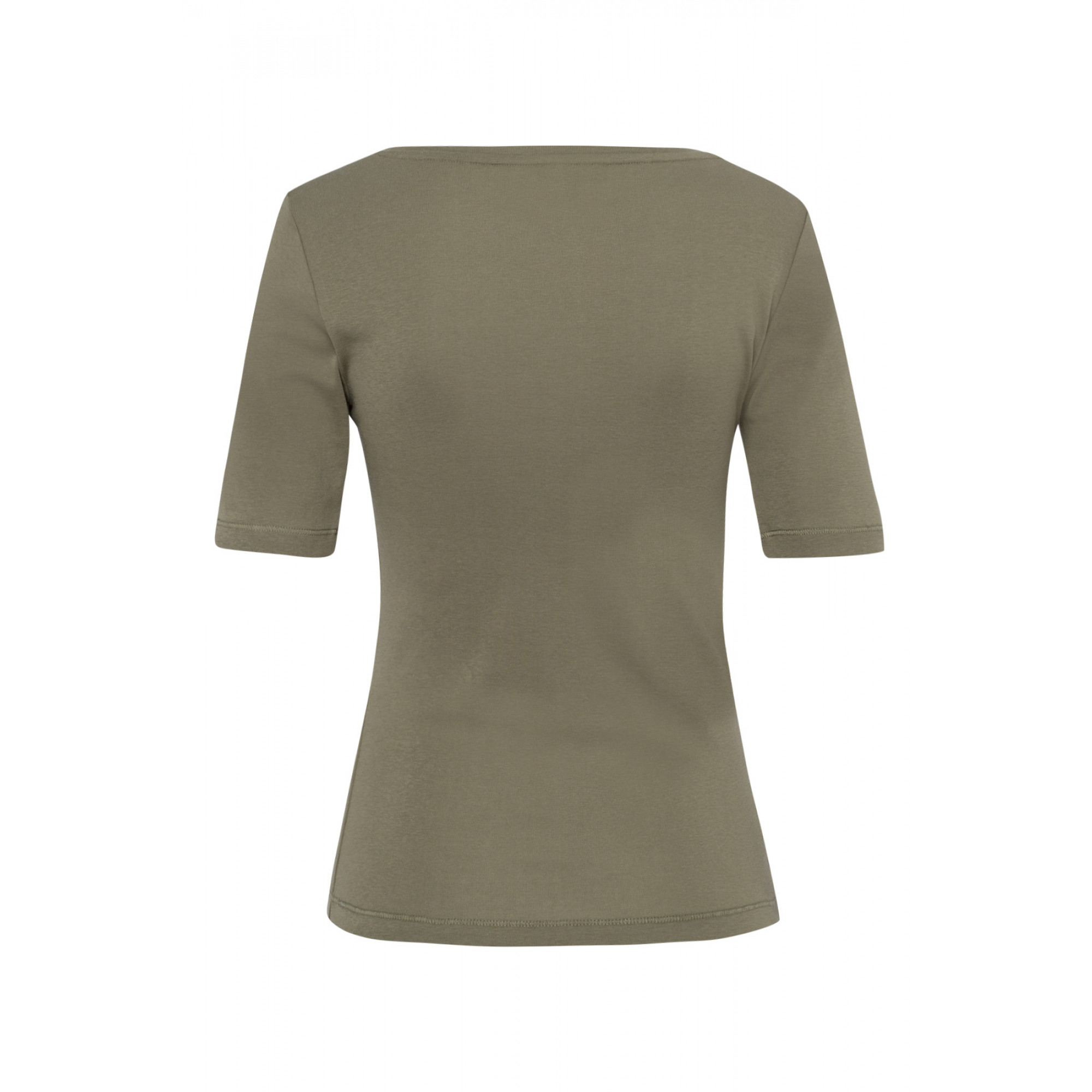 Baumwoll-T-Shirt, new khaki 01950008-0666 2