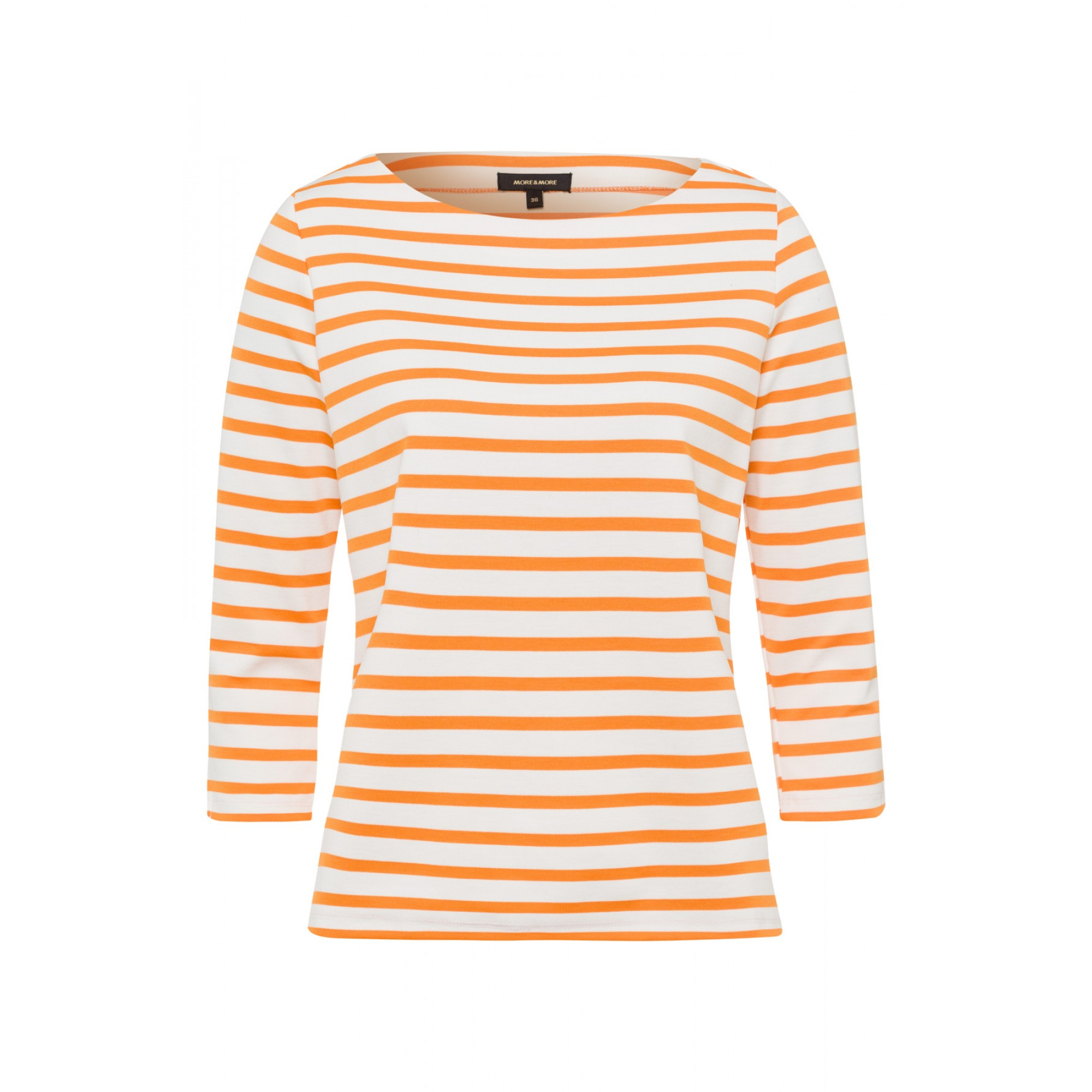 Ringelshirt, orange/ecru 01960064-2420 1