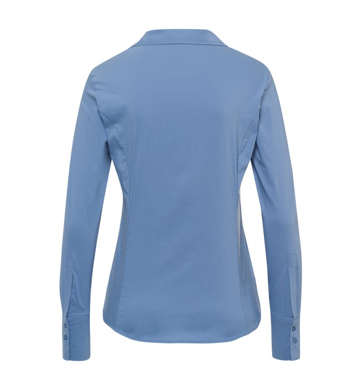 Businessbluse, dusty blue 11012572-0325 2