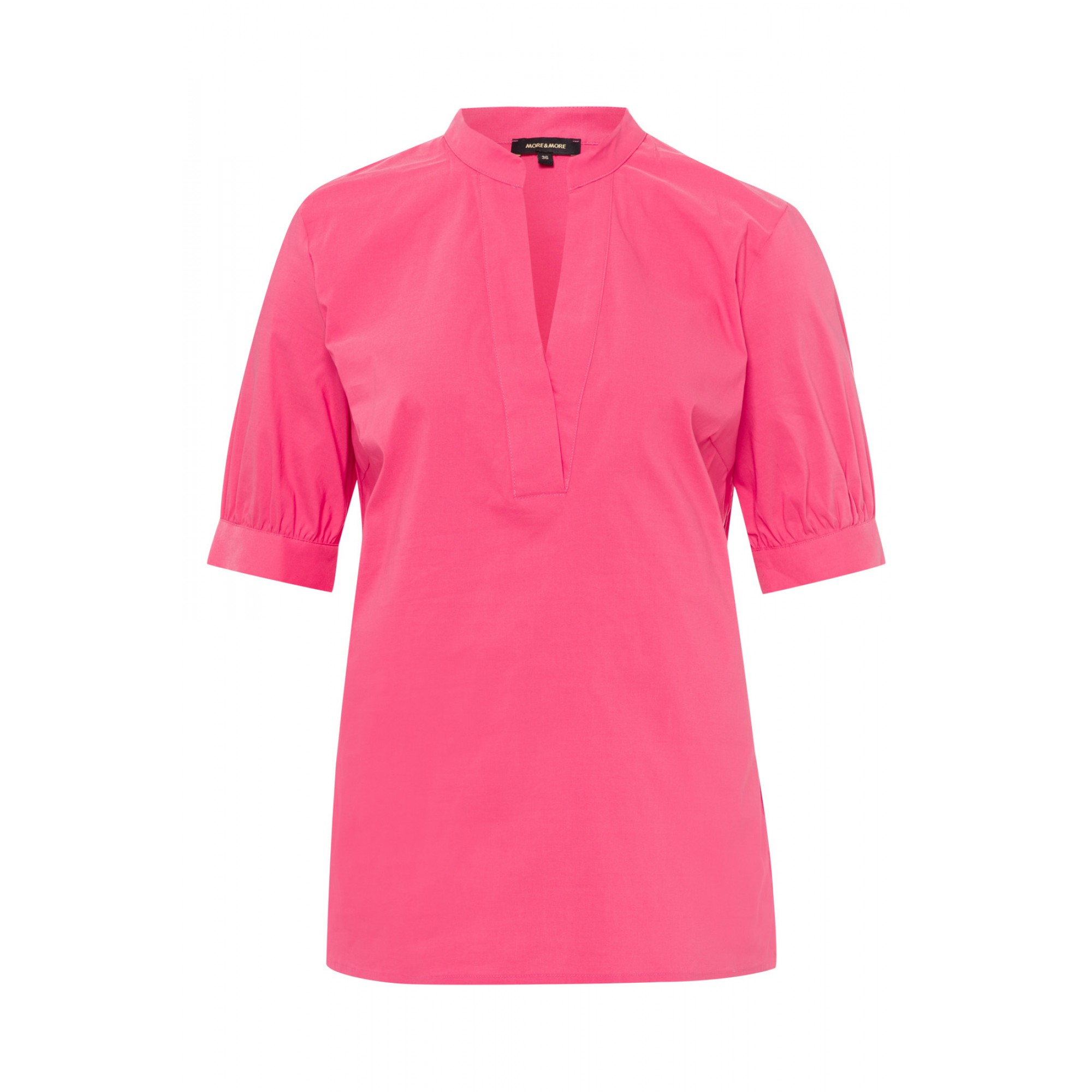 Baumwoll/Stretch Bluse, pink berry 11832551-0831 1