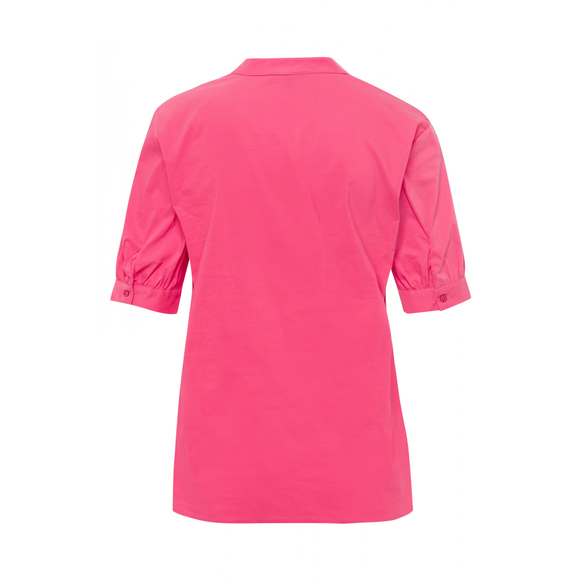 Baumwoll/Stretch Bluse, pink berry 11832551-0831 2