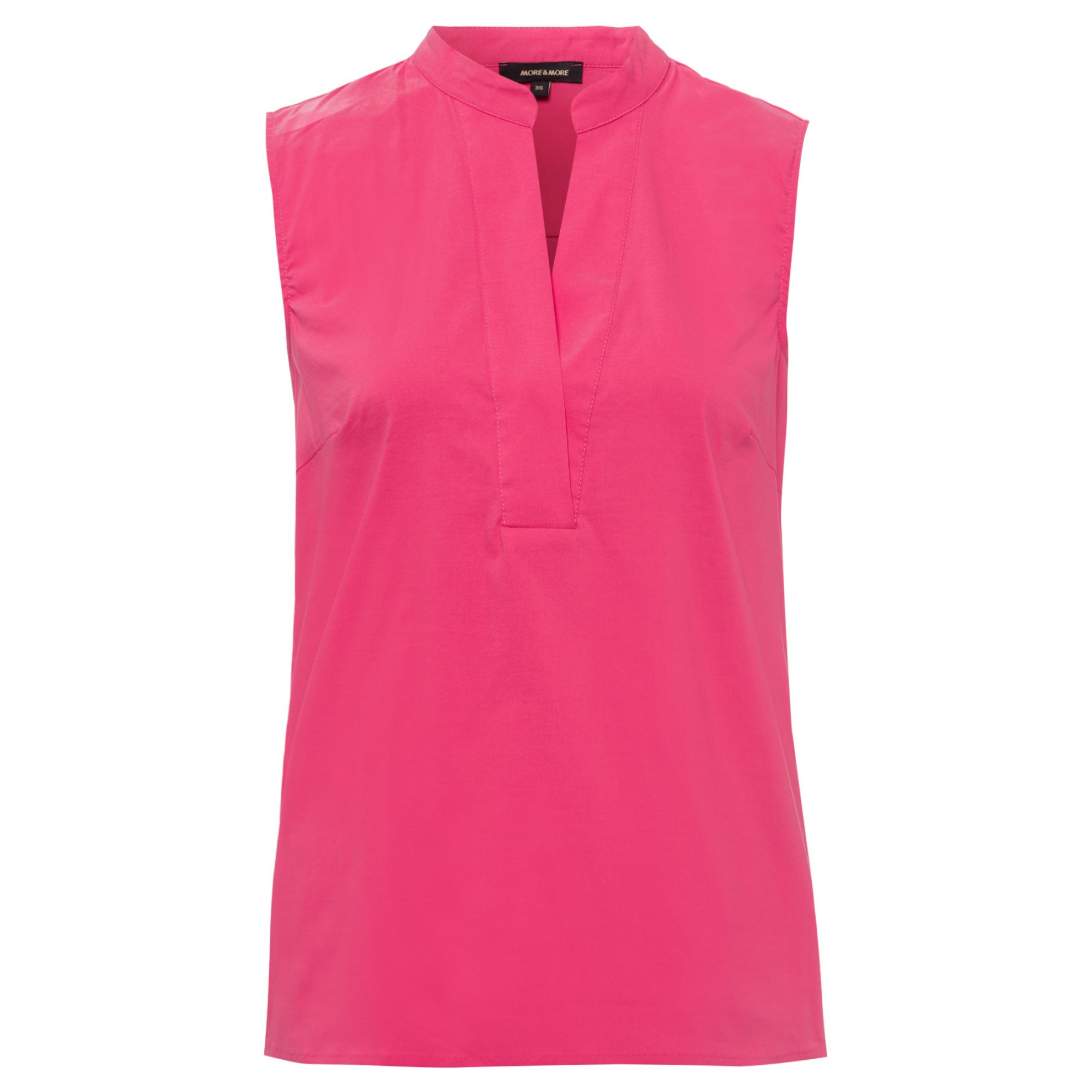 Bluse, Baumwoll/Stretch, pink berry 11832590-0831 1