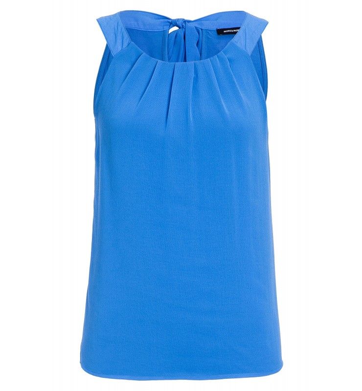 Top mit Chiffonfront, pacific blue 71050022-0345 1