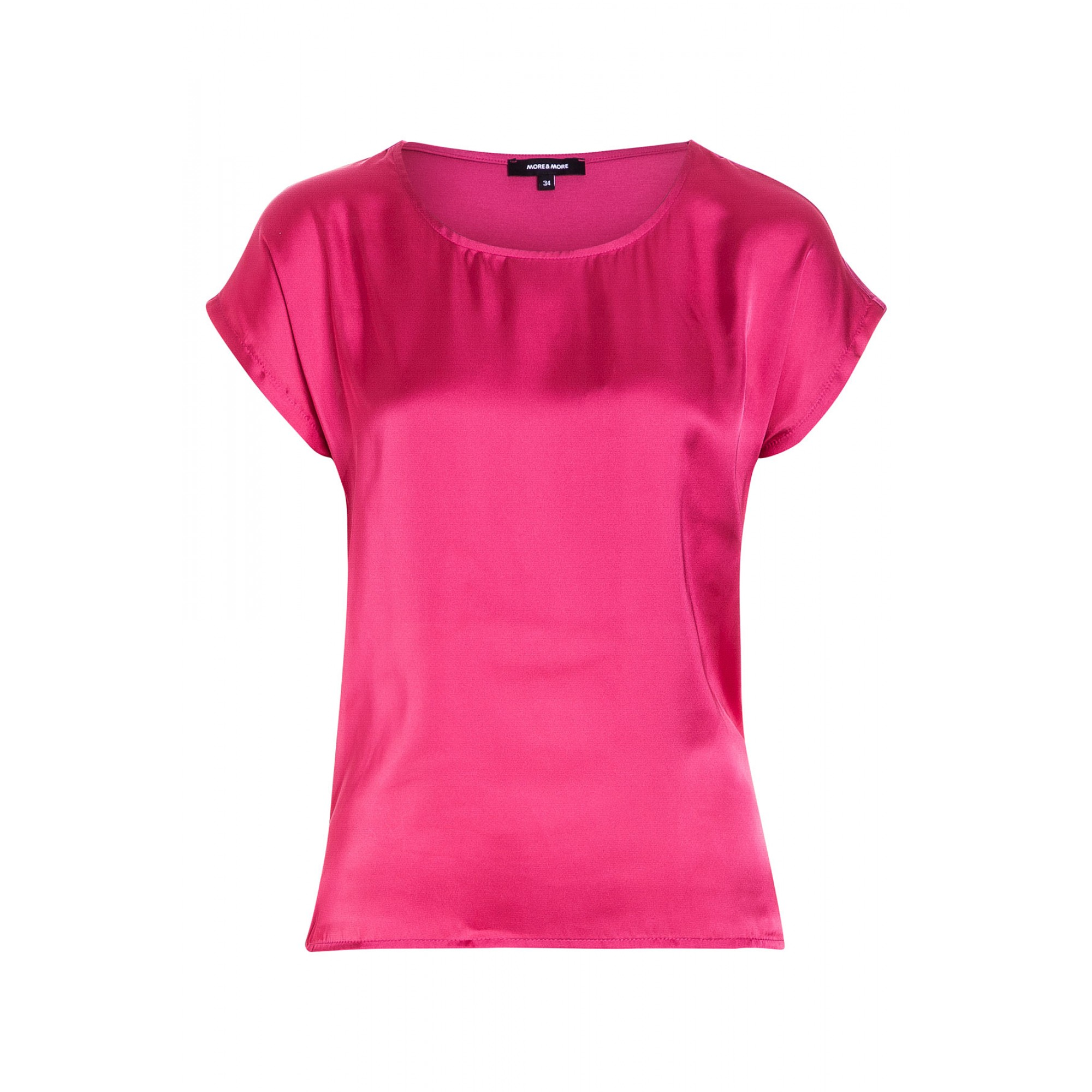 Shirt mit Satinfront, pink 71120520-0832 1