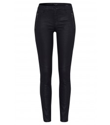 Coated Denim, schwarz, Hazel