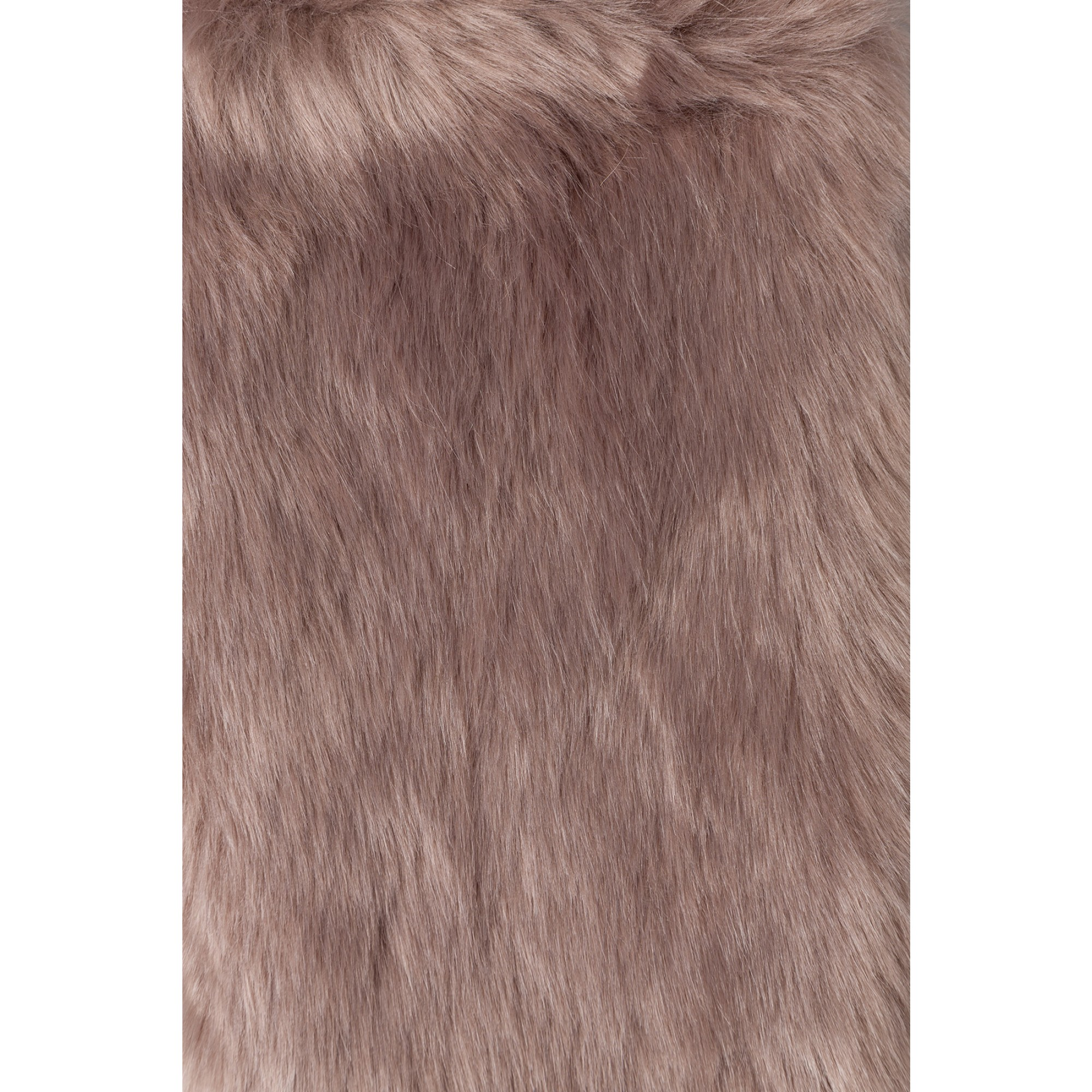 Fake-Fur-Kragen, taupe 85658080-0800 2