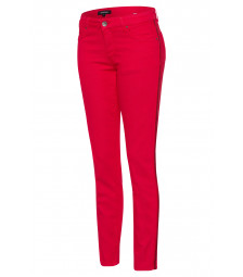 Skinny colored Denim, rot