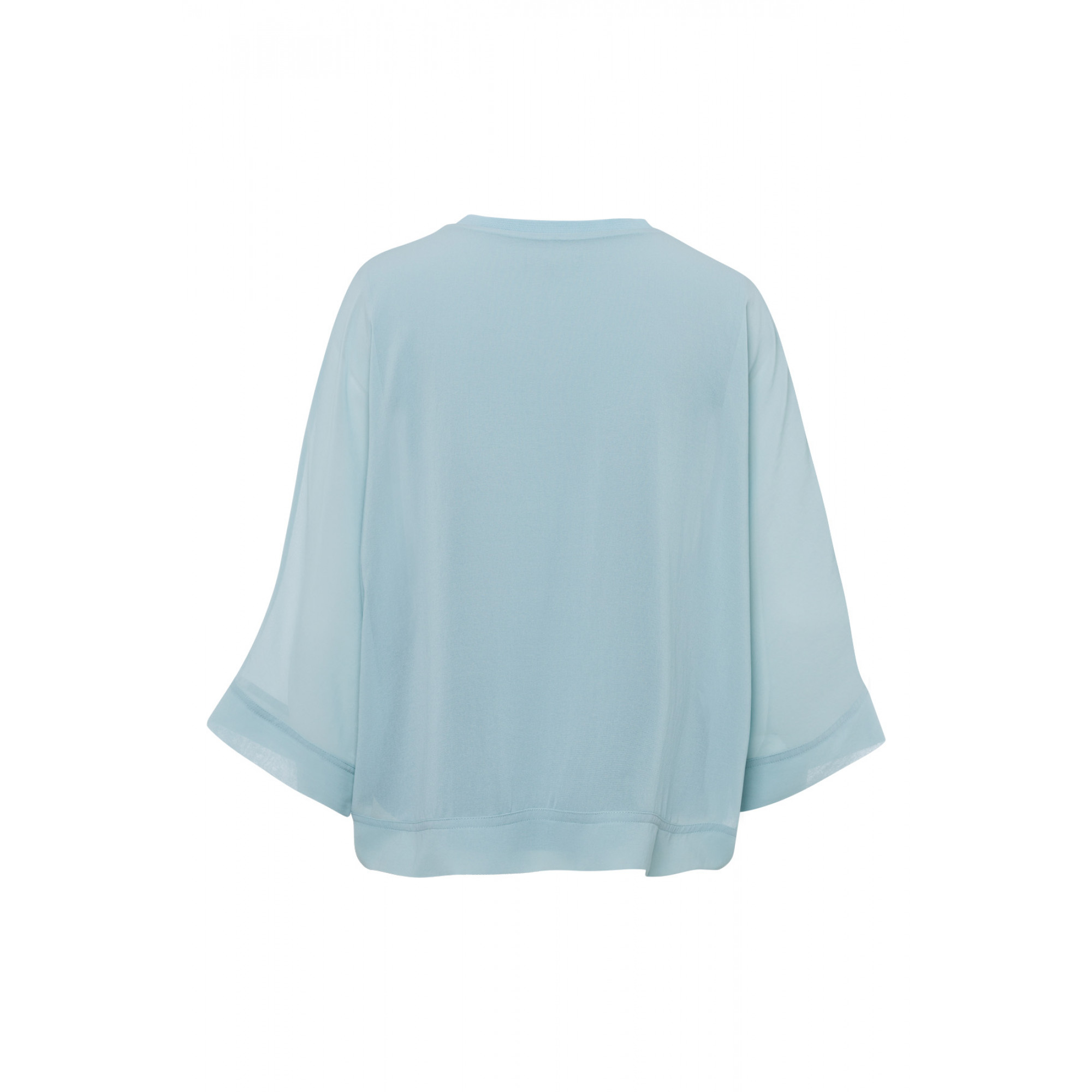 Chiffonbluse, powder mint 91032026-0613 2