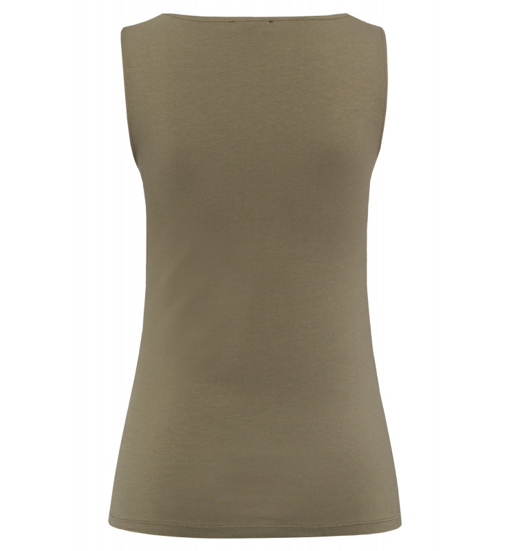 Baumwoll/Stretch Top, african green 91050062-0675 2