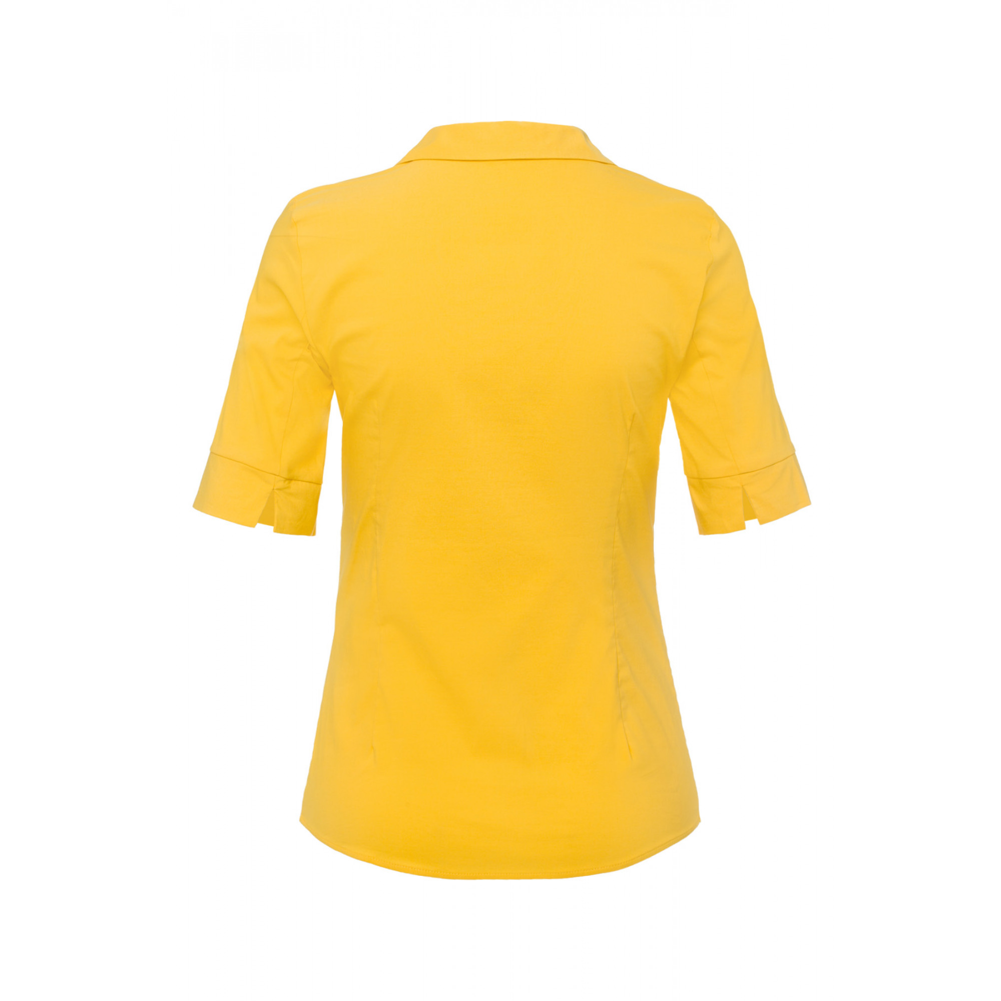 Baumwoll/Stretch Bluse, bright sun 91052566-0155 2
