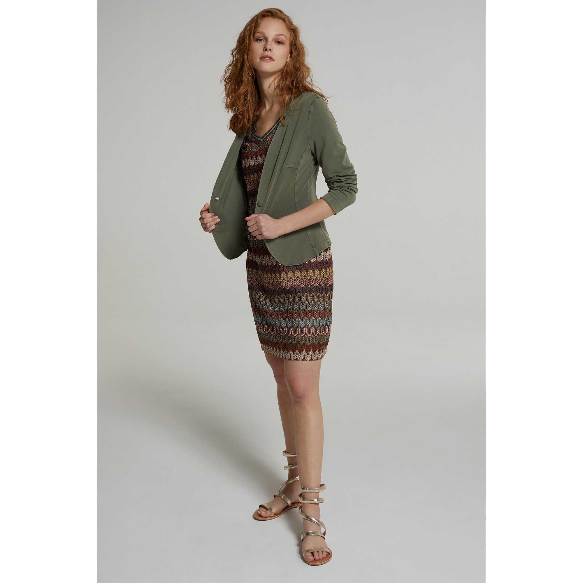 Sweatblazer, african green 91056606-0675