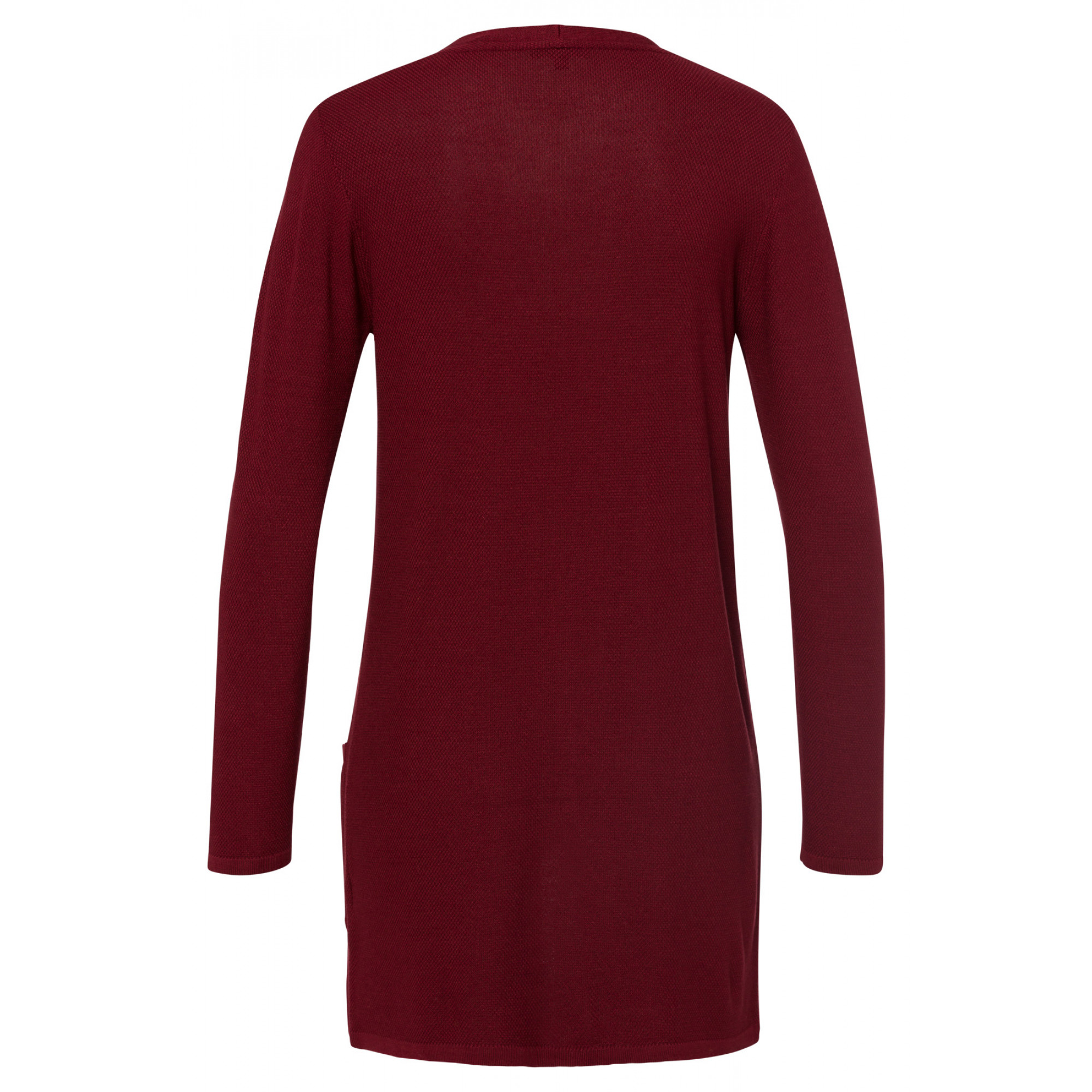leichter Long-Cardigan, wine red 91081261-0548 2