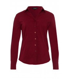 Businessbluse, wine red