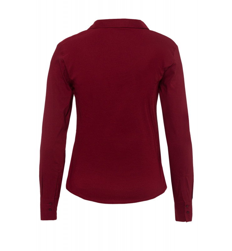 Businessbluse, wine red 91082572-0548 2