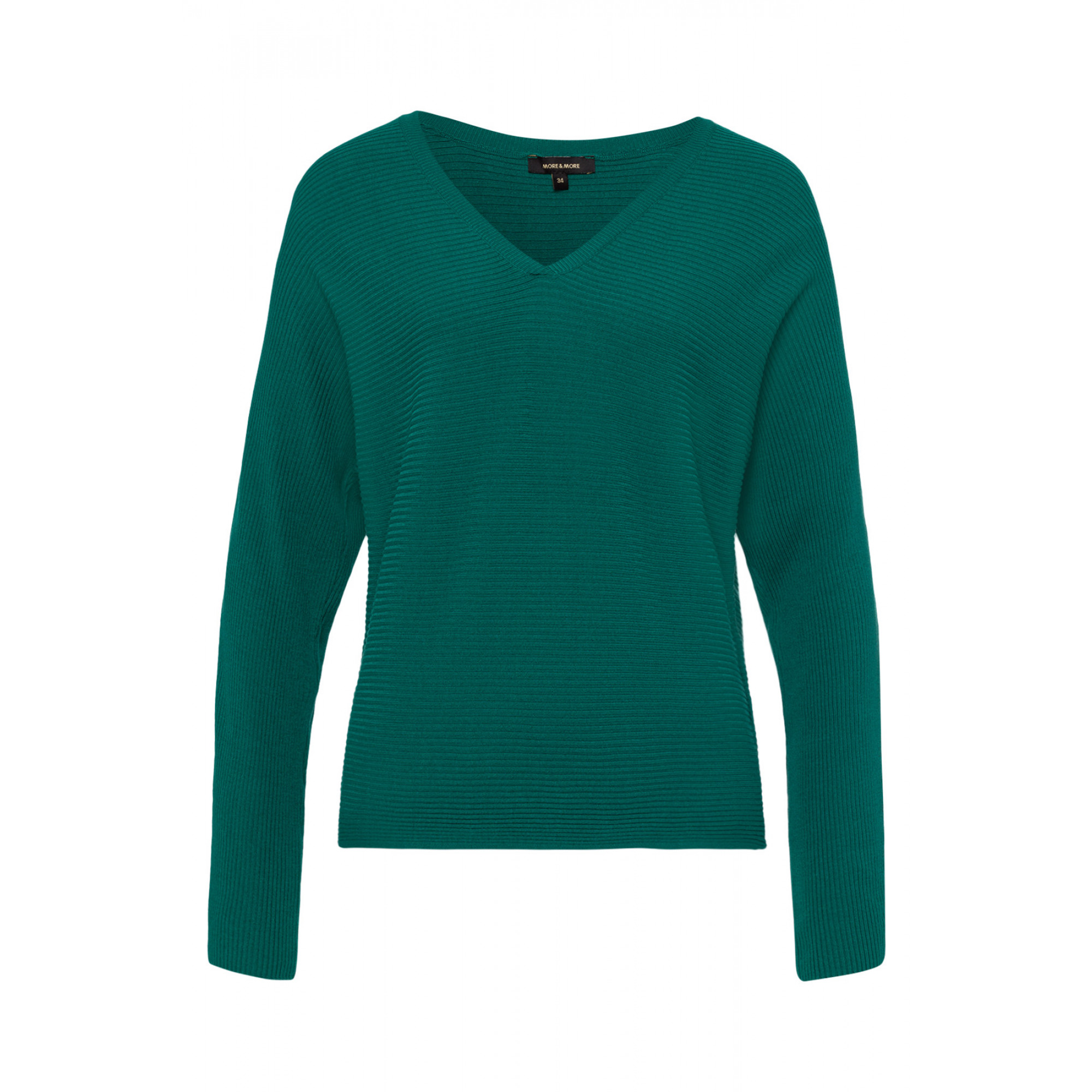 V-Neck Pulli, emerald green 91091002-0655 1