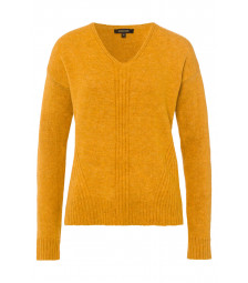 V-Neck Pullover, autumn yellow