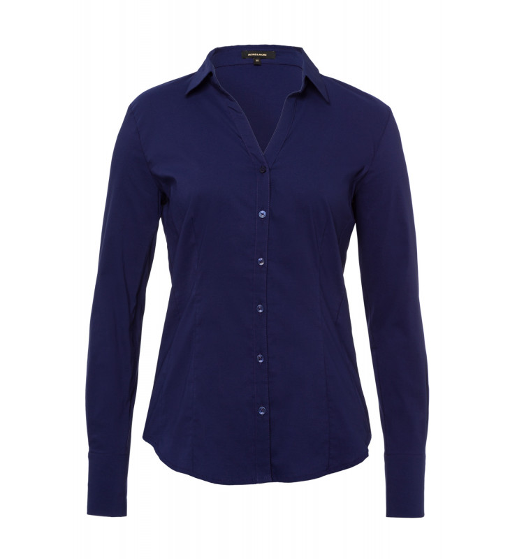 Businessbluse, warm blue 91102572-0371 1