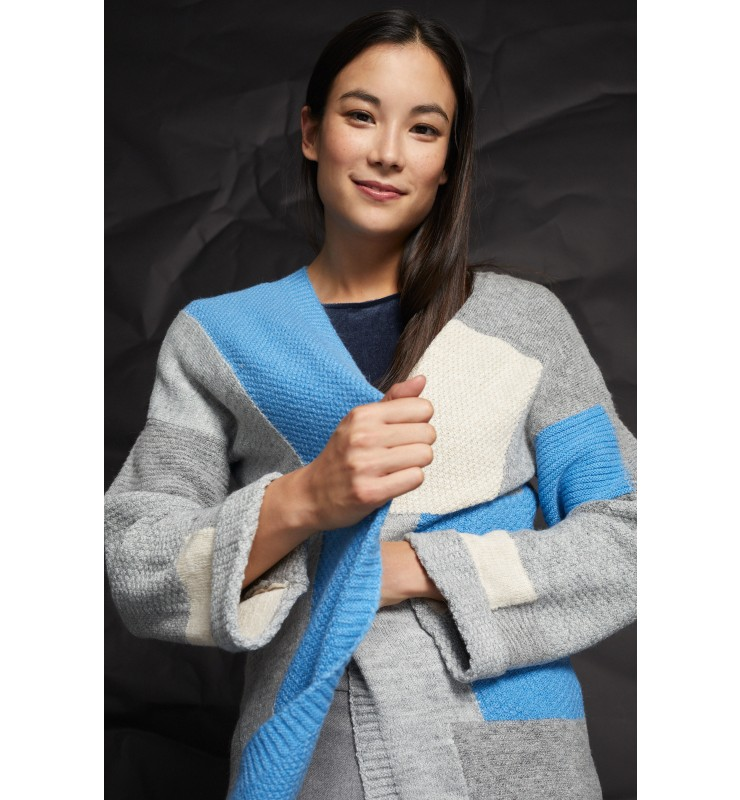 Cardigan, Colorblock 91111212-4717 3