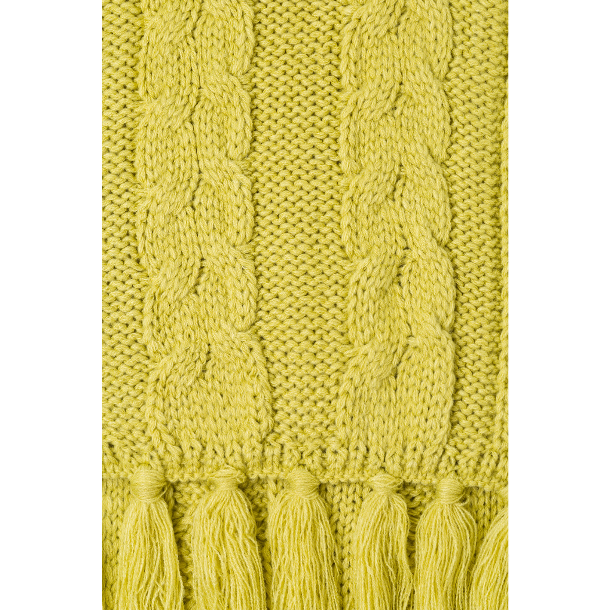 Strickschal, lime green 91119005-0610 2