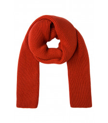 Strickschal, orange