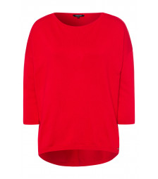 weiter Pullover, rot