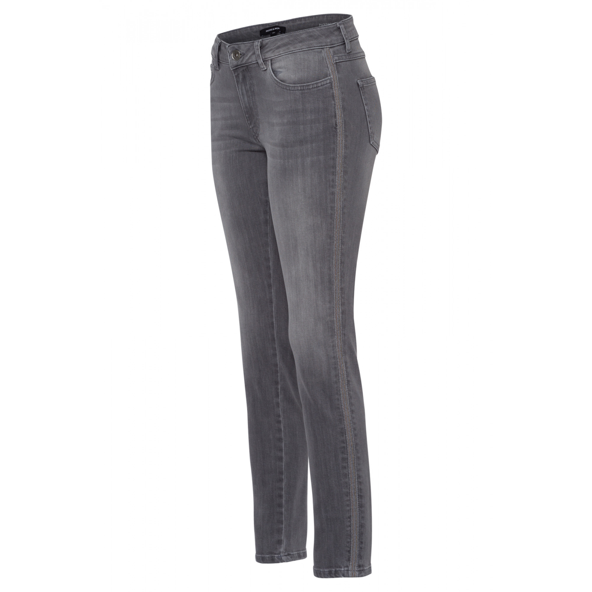 Five Pocket Jeans, grau, Hazel 91824502-0967 1