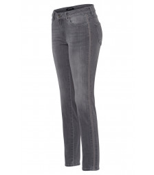 Five Pocket Jeans, grau, Hazel