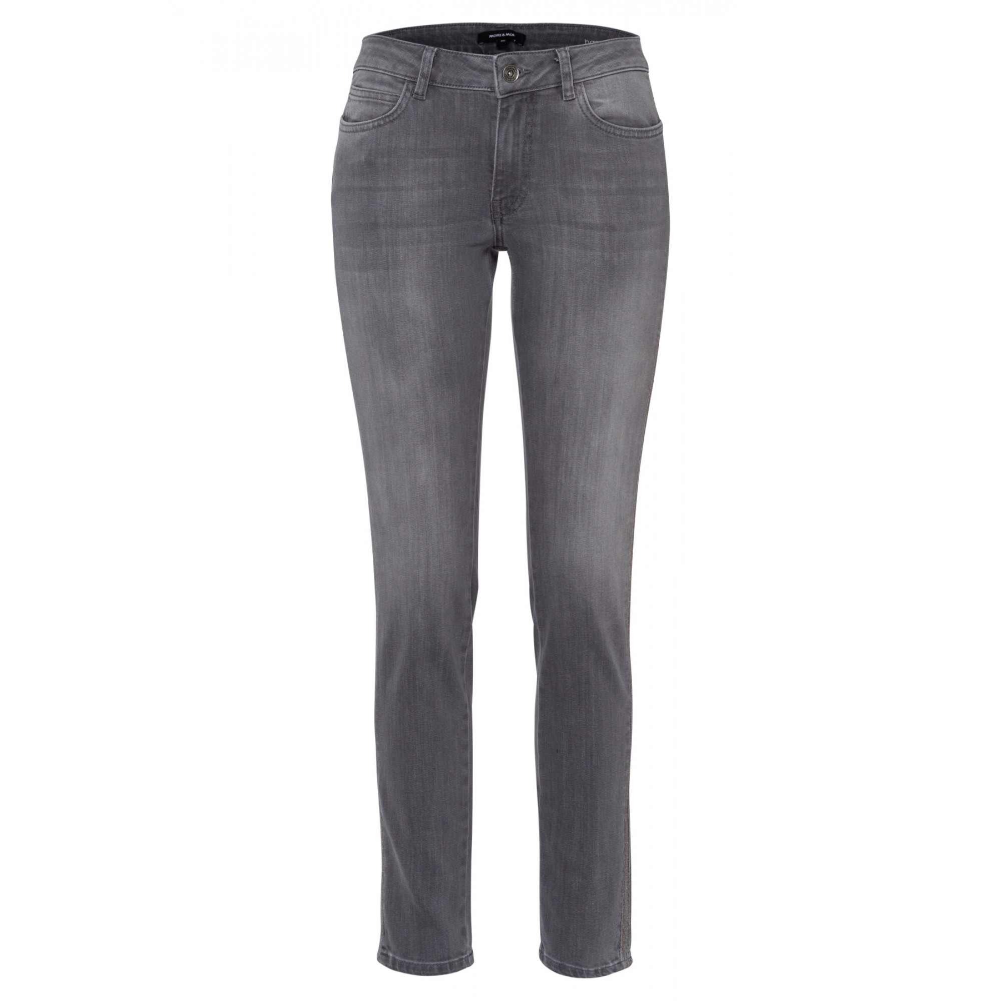 Five Pocket Jeans, grau, Hazel 91824502-0967 2