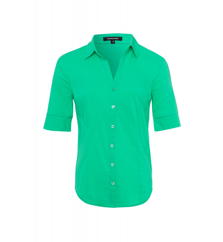 Baumwoll/Stretch Bluse, spring green 91832566-0642 1