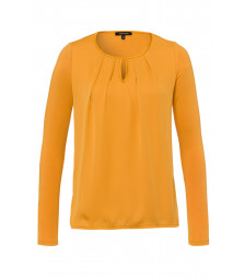 Blusenshirt, autumn yellow