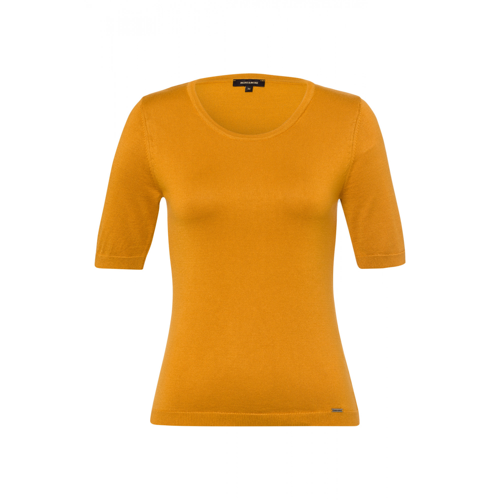 Feinstrick-Pullover, autumn yellow 91911513-0185 1