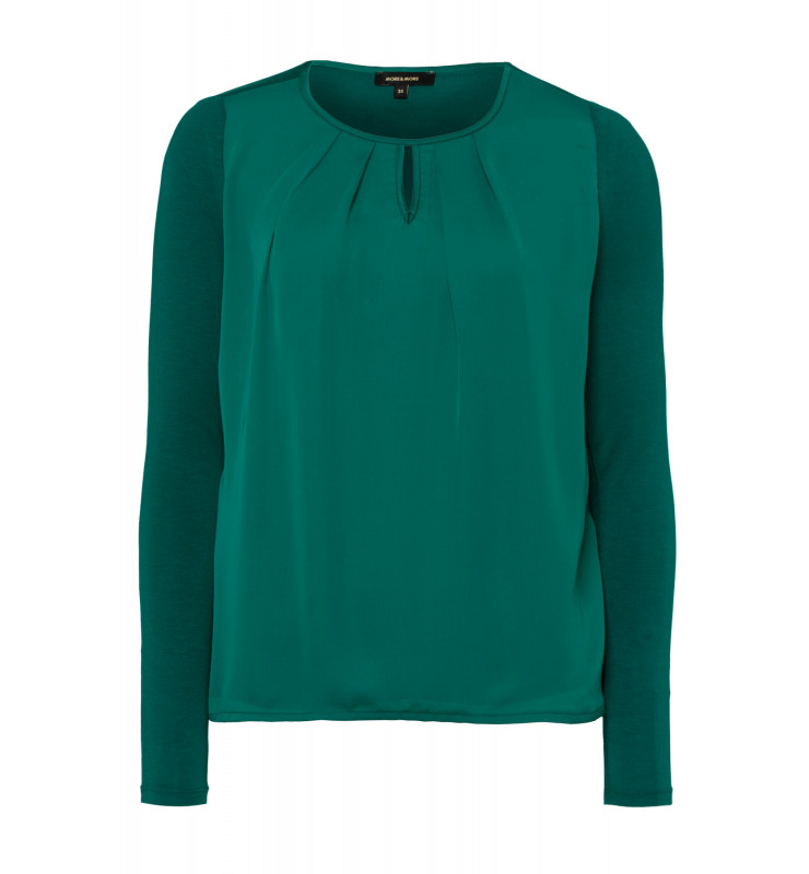 Blusenshirt, emerald green 91920538-0655 1