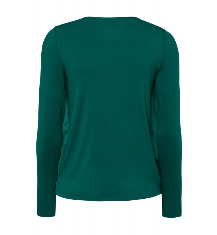 Blusenshirt, emerald green 91920538-0655 2